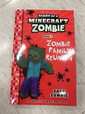 MINECRAFT LATEST DIARY OF A MINECRAFT ZOMBIE BOOK 7 zombie family REUNION NEW 2