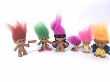 Lot of Vintage Troll Dolls Russ Trolls. Halloween Christmas. Trolls