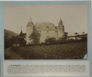 France, Château de la Pallud vintage albumen print, France Tirage albuminé