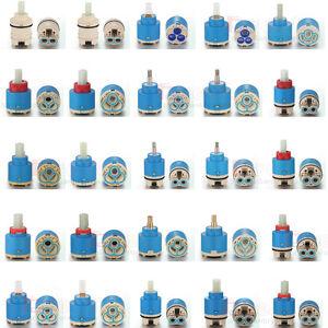 35mm/40mm Ceramic disc plastic bath basin shower lever mixer tap inner cartridge