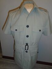"RAF MANS BUSH UNIFORM JACKET AND TROUSERS CHEST 104CM 41"" GENUINE ISSUE"