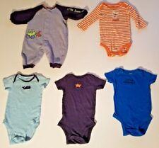 Carters Boys Clothing Lot 6 months clothes 5 pcs clothes boy baby bodysuits