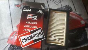 Filtro aria Champion per Yamaha Xt 600 E - 89 00 - U304 - U 304 TOP QUALITY
