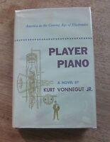 """PLAYER PIANO by  Kurt Vonnegut - 1st/1st HCDJ 1952  Scribner  """"A""""  $3.00 - fine"""