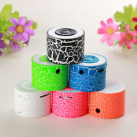 Portable Mini Stereo Bass Speakers Music Player Wireless AUX,USB TF MP3 Speaker