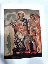 Michelangelo The Painter, Mariani, Arti Grafiche Ricordi 1964 Illus Colorplates