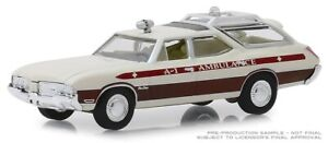 Greenlight 1970 Oldsmobile Vista Cruiser A-1 Ambulance Service Waco, Texas 30066