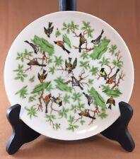"Vintage Fitz And Floyd for Sakowitz 7 1/2"" Bird Salad Dessert Plate"