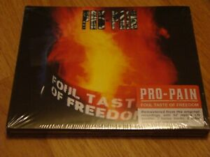 CD - PRO-PAIN - FOUL TASTE OF FREEDOM  (DIGIPACK)  !!! NEU + OVP !!!