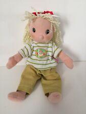 Zapf Creation 9� Maggie Raggies Baby Doll Cloth Body Blonde Yarn Hair