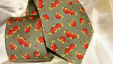 HERMES  silk tie, from the whimsical collection,NEW not boxed