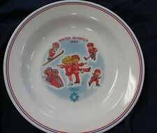 1984 Winter Olympics Corelle Ware Campbells Soup Plate