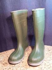 Rubber Work Muck Boots Green  Size 10
