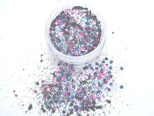 "3g POT NSI PRE-MIXED GLITTER ACRYLIC POWDER"" MIRROBALL""- nail art mix"