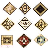 "3"" Tile Sticker Transfer Kitchen Bathroom Floor Tile Sticker Self Adhesive 10Pcs"