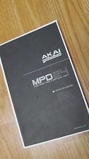 Akai professional MPD 24 USB Midi pad Controller unit APC operator's manual MPC
