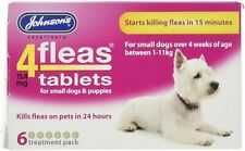 Johnsons 4fleas D084 Puppies and Small Dogs Tablets - 6 Pack Fast Free Post