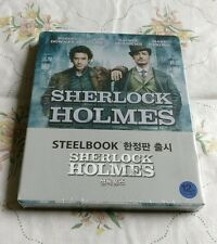 Sherlock Holmes Korea Bluray Steelbook 1st print, New/Sealed