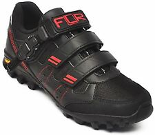 FLR Bushmaster Cycling Pro MTB/Trail Shoe Black Buckle &  Fastening Size 45