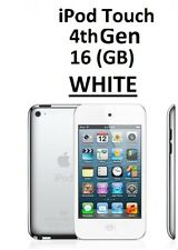 Apple Ipod Touch 4th Generation White (16GB) Wi-Fi Bluetooth Video Recorder