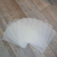 "plastic canvas 10.5"" x 13.5"" cross-stitch craft sheets 9 pack"