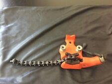 Pre Owned Ridged Bc 210 Bench Pipe Chain Vise In Excellent Condition