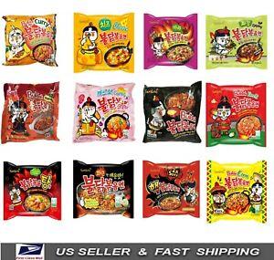 [SamYang] New Korean Buldak Fire Spicy HOT Chicken Flavor Muckbang Ramen 12 Type