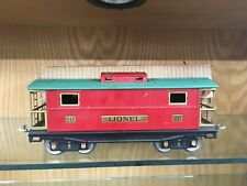 Lionel Standard Gauge 217 Red and Peacock EX