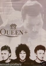 "QUEEN / FREDDIE MERCURY ""GREATEST III"" U.K. PROMO POSTER - Classic Rock Music"