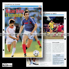 #018.11 - MAXIME BOSSIS (RC PARIS, FC NANTES) Fiche Football