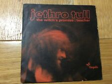 "7"" Jethro Tull The Witch's Promise/Teacher"