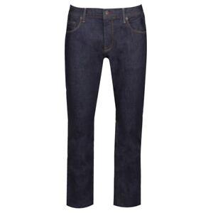 Tommy Hilfiger Mens New Clean Rinse Denton Straight Fit Jeans Dark Navy