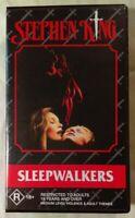 SleepWalkers VHS 1992 Horror Mick Garris Stephen King 1995 Time-Life Aus
