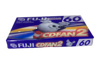 FUJI CDFAN 2 60 Blank Cassette Tape  (One 1 SEALED)
