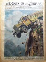 La Domenica del Corriere 6 Maggio 1939 Giro d'Italia Starace Albania Bartali Re