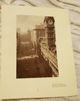 Sydney Post Office & Martin Place OR Circular Quay - 1929 Magazine Print