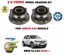 FOR BMW X3 XDRIVE 20i 28i 35 20D 30D 35D 2010-> NEW 2X FRONT WHEEL BEARING SET