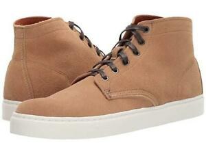 Wolverine Mens Sz 7.0 Tan Suede1000 Mile Original Mid Sneakers New $285 USA Made