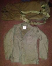 US Army Vanderbilt Shirt Co. Men's A-2 Jacket 34-36 Small Duffle Bag Korean War