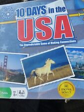 10 Days In The USA Board Game RARE 1st Ed. Mensa Select. Excellent Condition.