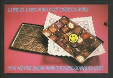 Industry Food Candy postcard Chocolate Candy Advertising