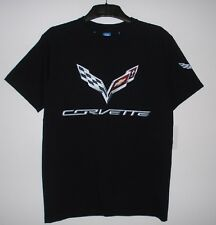 Authentic Corvette Racing C7 Screen Printed T-Shirt Black colour JH Design  S