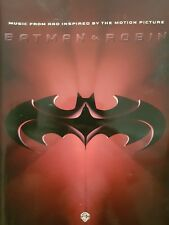 Smashing Pumpkins/VA: Batman & Robin [Soundtrack] (Piano/Vocal/Guitar Book) MINT