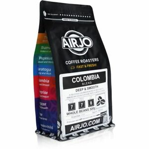 Coffee Beans by AIRJO - Colombia Blend - (DEEP & SMOOTH)