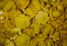 *NEW* Lego Yellow Flowers Large 2x2 Stud Heads Parks Gardens Forests 10 pieces