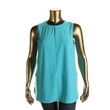 Polyester Career Tunic Plus Size Tops & Blouses for Women