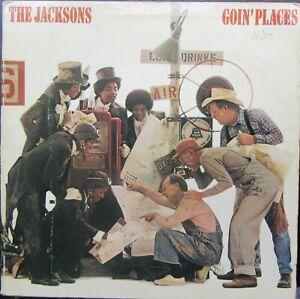 THE JACKSONS GOIN' PLACES LP UK Epic 1977