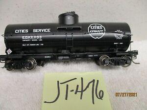 JT-476 PROTO 2000 Single Dome Tank Car Cities Service EORX 1133