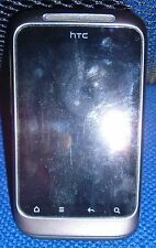 HTC Wildfire S – Charcoal Grey (Vodafone) Smartphone - with accessories