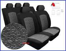 Tailored Full Set Seat Covers for Ford Fiesta Mk6 Mk7 2008 - onwards (BW)
